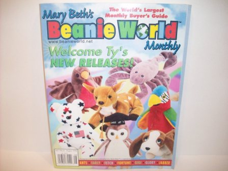 Mary Beth's Beanie World Monthly Vol. 1, No. 6 August, 1998